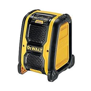 Dewalt DCR006-XJ Altavoz Bluetooth XR para funcionamiento con baterías 10.8V, amarillo