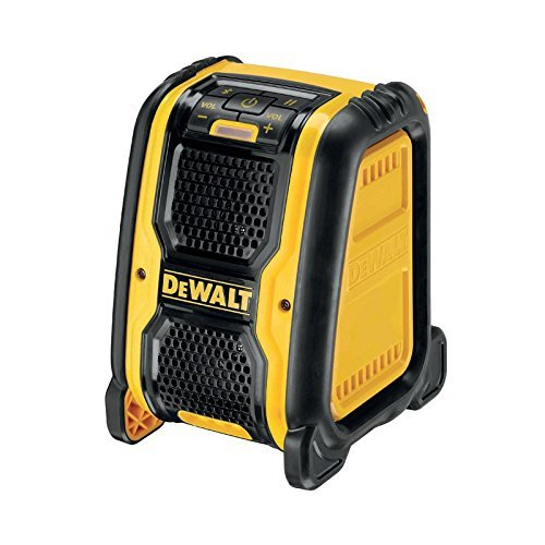 Dewalt DCR006-XJ Bluetooth-Speaker,Multicolore (Jaune/Noir)