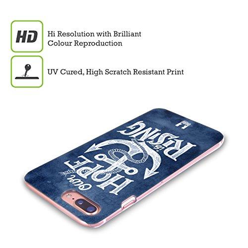 Head Case Designs Gestreift Anker Rückseite Hard Back Cover für Apple iPhone 6 / 6s Die Hoffnung Steigt