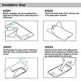 Galaxy S8 Panzerglas Schutzfolie, Protectify [1 Stück] Displayschutzfolie für Samsung Galaxy S8 Panzerfolie Displayschutz Gehärtetem Glass 9H Härtegrad, Anti-Kratzen, Einfaches Anbringen - 7