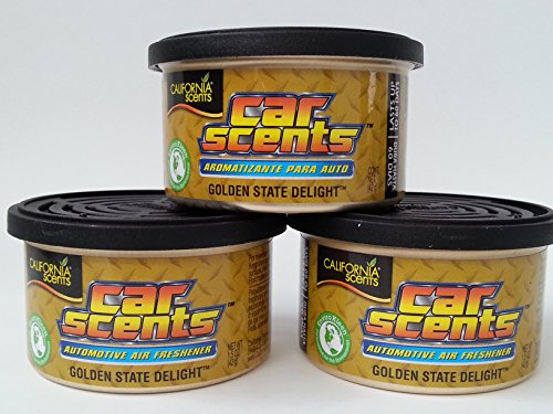 California Car Scents - Sents Golden State Delight Lufterfrischer 3er Sparpack - Set