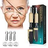 Y.F.M Hyaluronsäure Stift Set, Hyaluron Pen für Hautpflege, 1X Hyaluron Pen & 3X 0.5 ml Ampullenköpfe