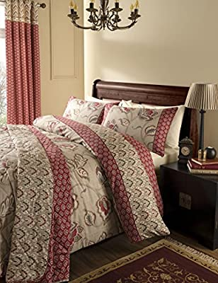 Catherine Lansfield Kashmir 200 Thread Count Duvet Set - cheap UK light store.