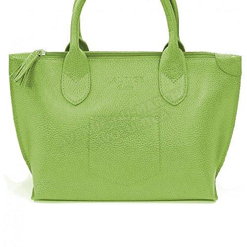 Tasche Schulter Marie Leder Herstellung Luxe Französische Grün - Grün
