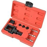 Furnituredeals juegos de herramientas para coche Kit herramientas de cortar y remachar cadenas de moto 8