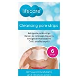 Patchs Anti Points noirs comédons nettoie pores du nez Strips Purifiants 6 Strips