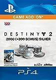 2000 (+300 Bonus) Destiny 2 Silver [PS4 Download Code - UK...