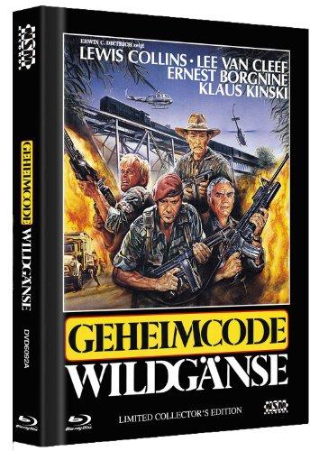 Bild von Geheimcode Wildgänse - Uncut [Blu-ray+ DVD] Mediabook Cover A [Limited Collector's Edition] [Limited Edition]