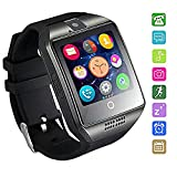 MallTEK Smartwatch Bluetooth Wasserdicht 2018 New Smartwatch support SIM/TF-Karte Smart Armband Band Sport mit Facebook WHATSAPP Smartwatch für Andorid Smartphone