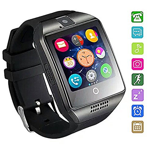 Bluetooth Smartwatch Waterproof AxCella Smartwatches Support SIMTF Card Smart Watch Band Bracelet With Pedometer Sleeping Monitor Facebook Whatsapp Smart Watch Andorid Samsung Huawei Sony HTC Etc