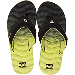 Billabong Dunes Fluid, Zapatos de Playa y Piscina para Hombre, Amarillo (Neo Yellow 4397), 45 EU