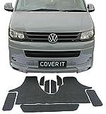 Cover It For Less 123Teppich-Set Matten Türen, Rückseite gummiert