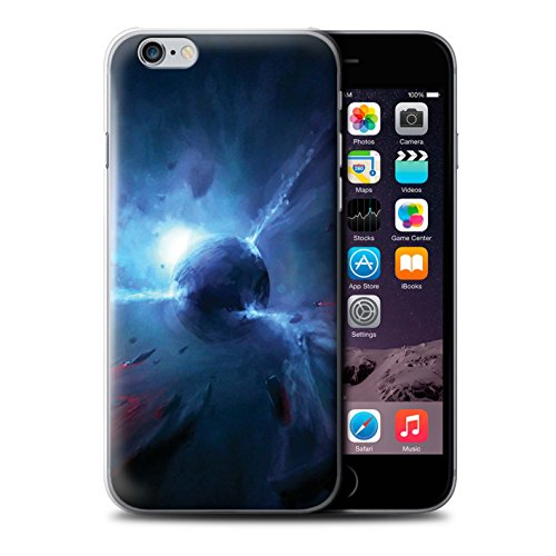 Offiziell Chris Cold Hülle / Case für Apple iPhone 6S+/Plus / Exoplanet Muster / Galaktische Welt Kollektion Pulsar/Neutron Stern