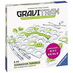 Ravensburger 27623 GraviTrax Túneles, Set de Expansión, 8+ Años, Juego Lógico-Creativo, Juego STEM