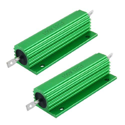 sourcingmap-100w-12-ohm-di-vite-del-colpetto-montato-in-alluminio-ricavato-resistori-a-filo-2pcs