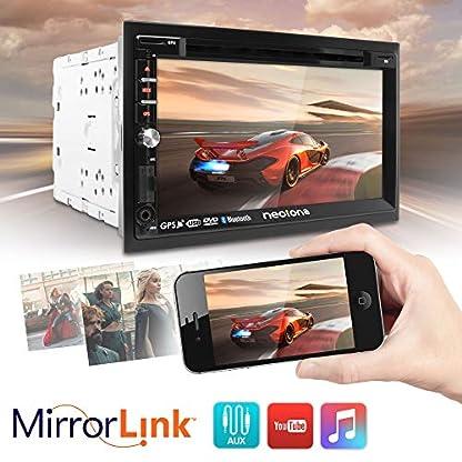 NEOTONE-NDX-360A-2DIN-Autoradio-GPS-Navigation-mit-Europakarten-2019-DAB-Untersttzung-7-Zoll-USB-l-SDHC-Full-HD-16GB-integriert-WLAN-Bluetooth-MirrorLink-OBD-2-RDS