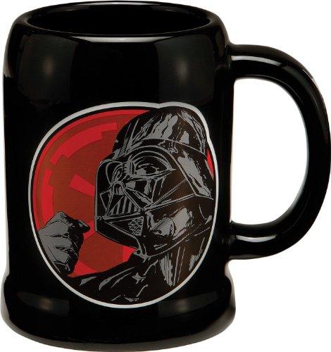 Preisvergleich Produktbild Star Wars 99279 - Darth Vader Bierkrug aus Keramik in Geschenkpackung, 591 ml, 10 x 13 x 13 cm