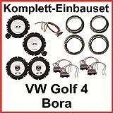 Lautsprecher Set VW Golf 4 Bora ALPINE SXE-1750S SXE-1725S vorne und hinten