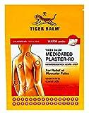 Tiger Balm 2 Grandes Patches Médicamenteux Anti Douleur 10x14cm EFFET CHAUD
