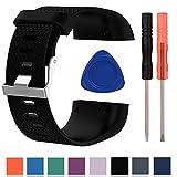 Bracelet de remplacement Cyeeson en silicone souple - Pour montre connectée Fitbit...