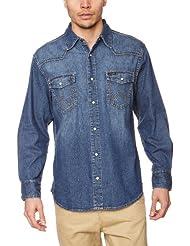 Wrangler - Classic - Chemise en Jeans - Homme