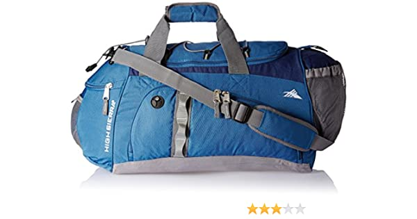 34a60b78804e High Sierra Nylon 35.3 liters Blue Travel Duffle (09H (0) 21 001)  Amazon.in   Bags