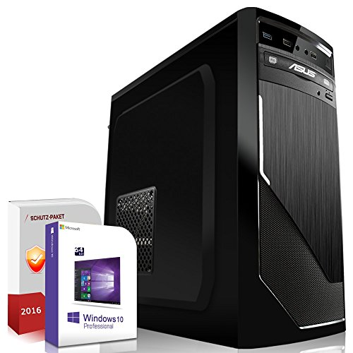 Win 10 Komplett PC Set HD 8370D 2GB 500 GB 8 GB AMD A4 6300 2x3,9 GHz Computer S