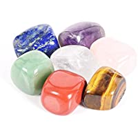 Energy Crystal – Piedra de energía colorida grande, yoga, descompresión de cristal natural irregular, piedra de energía curativa, mezcla de cristales, piedra natural de piedra preciosa decorativa