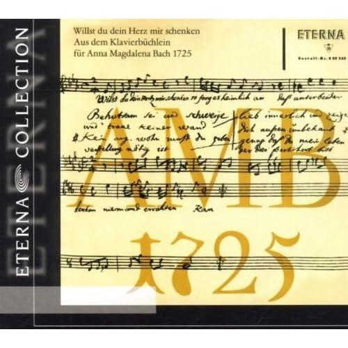 Aus dem Klavierbüchlein für Anna Magdalena Bach 1725: No. 8a, Polonaise in F Major, BWV Anh. 117a