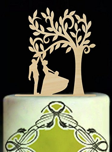 rustic-wedding-cake-toppers-albero-sotto-sposa-e-sposo-give-five-silhouette-wedding-cake-topper
