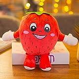 Opcbreath Molto Amato dai Preferiti del Bambino Giocattolo di bambola di frutta vegetale carino creativo peluche (fragola)