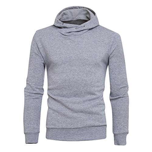 Homme Sweat à capuche, Malloom® Manteau Sweat à capuche solide d'hiver Veste Outwear