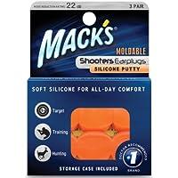 Mack 's Shooters formbare Silikon Putty Ohrstöpsel, orange, 3Paar preisvergleich bei billige-tabletten.eu