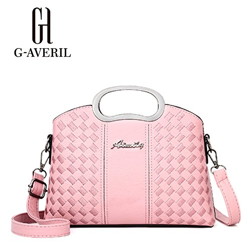 G-AVERIL, Borsa a mano donna viola Purple Pink