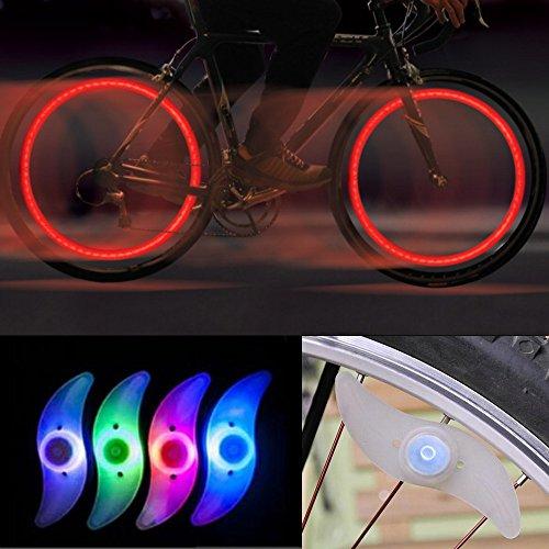 GADA 2X Fahrrad Rad LED Speichen Licht Lampe Blinker Sp… | 04250990279184
