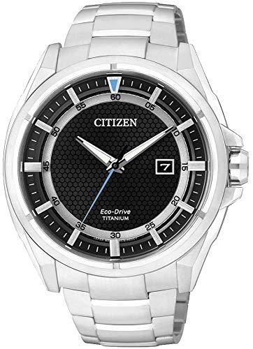 Orologio uomo da polso Citizen Eco-Drive SuperTitanio AW1400-52E