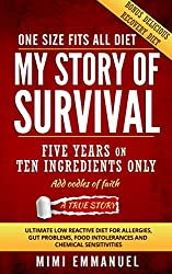 My Story of Survival: The ultimate low-reactive diet for allergies, gut problems, food intolerances and chemical sensitivities. (English Edition)