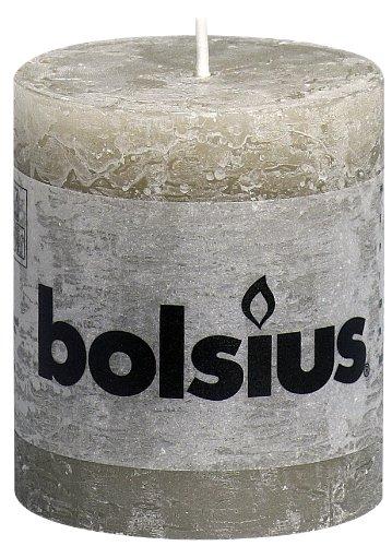 Bolsius Candela a Colonna per Esterni//Interni 150x80mm Rossa