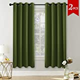 Best Home Fashion Blackout Curtains 100s - PONYDANCE Thermal Eyelet Blackout Window Curtains Windows Treatment Review