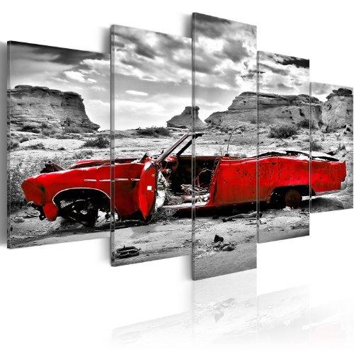 murando - Acrylglasbild Auto 100x50 cm - 5 Teilig - Bilder Wandbild - modern - Decoration - i-C-0074-k-m