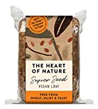 The Heart of Nature Seeded Vegan Loaf 550g ( Pack of 6 ) Wheat Free Pure Grain Bread