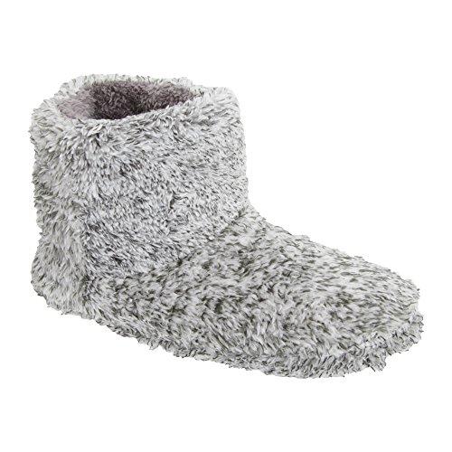 mens-contrast-marl-design-pull-on-slipper-boots-9-10-uk-grey