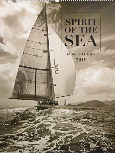 Spirit of the Sea 2019 - Bildkalender XXL (48 x 64) - Segelkalender - Landschaftskalender - Naturkalender
