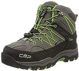 CMP Unisex-Kinder Rigel Mid Trekking- & Wanderstiefel, Grau (Tortora-Edera 16pc), 33 EU
