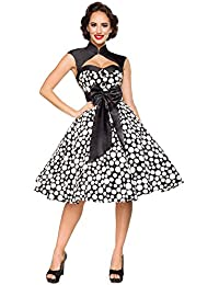 bdb58c3cb552c7 1001-kleine-Sachen at 50er Jahre Pin up Vintage Rockabilly Kleid mit Bolero  Retro-Kleid Tanzkleid aus Baumwolle von…