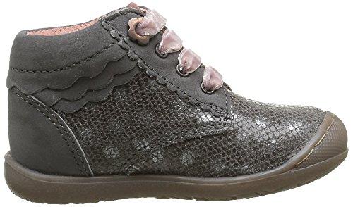 Aster Kery, Chaussures Marche Bébé Fille Gris (Gris Foncé)