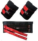 Original Shihan Gewichtsmanschetten (Verkauft ohne Gewichte 10KG Verstellbar, Knöchel Bein Gewichte, Athletic, Gym Training Knöchel Gewichte (Herren/Frauen