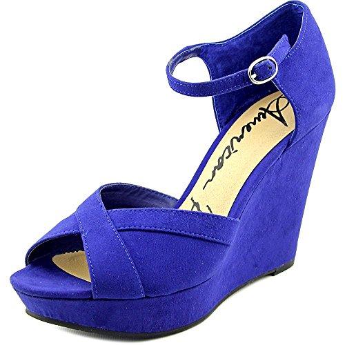 American Rag Audrey Damen Textile Keilabsätze Sandale Ultra Marine
