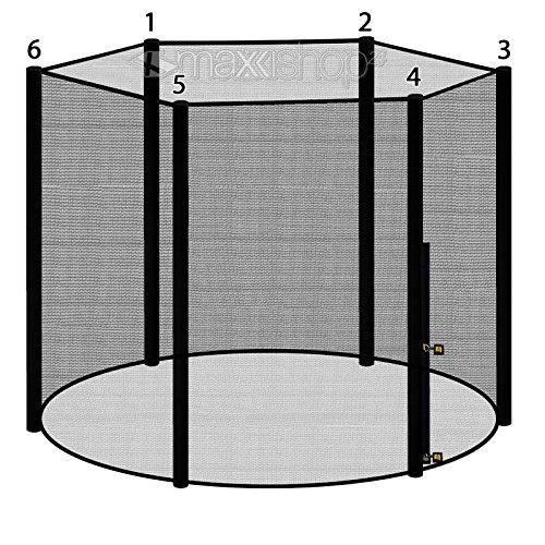 Trampolin awm® Sicherheitsnetz 300-305cm für 6 Stangensystem