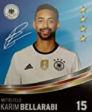 Rewe DFB Sammelkarten EM 2016 Auswahl aus allen 36 und Sammelalbum oder alles komplett (Nr 15 Karim Bellarabi)